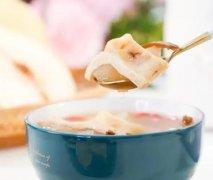 花胶陈皮雪梨甜汤的吃法